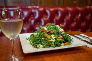 salad fireplace white horse tavern english style pub