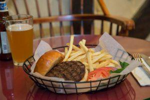 hamburger white horse tavern english style pub